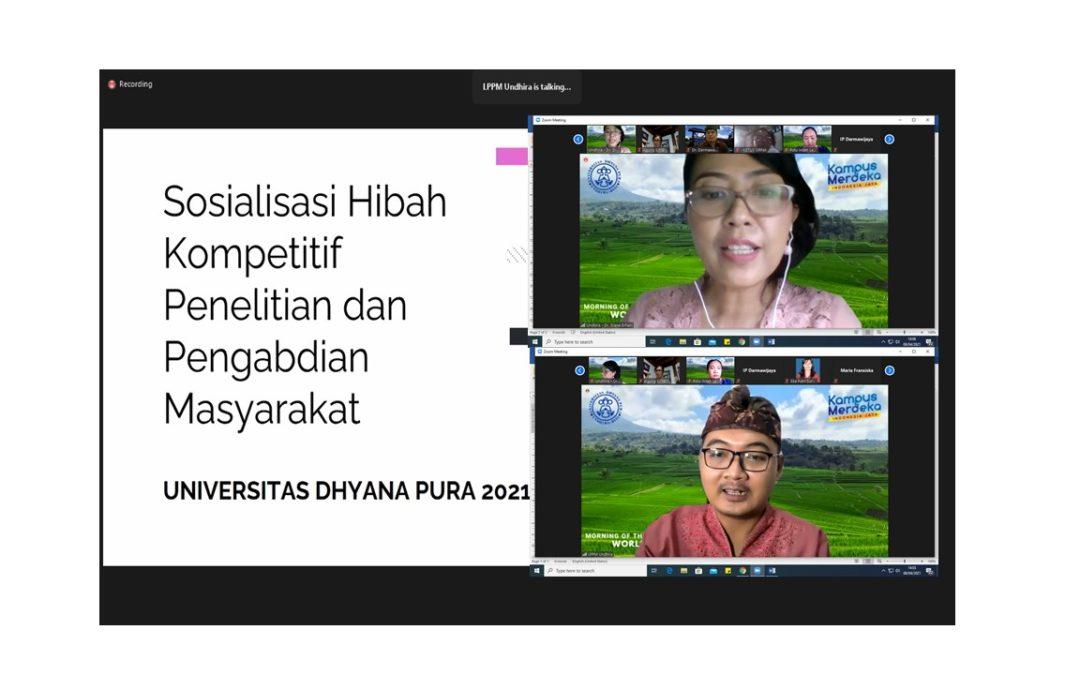 LPPM Undhira Lakukan Sosialisasi Hibah Internal 2021