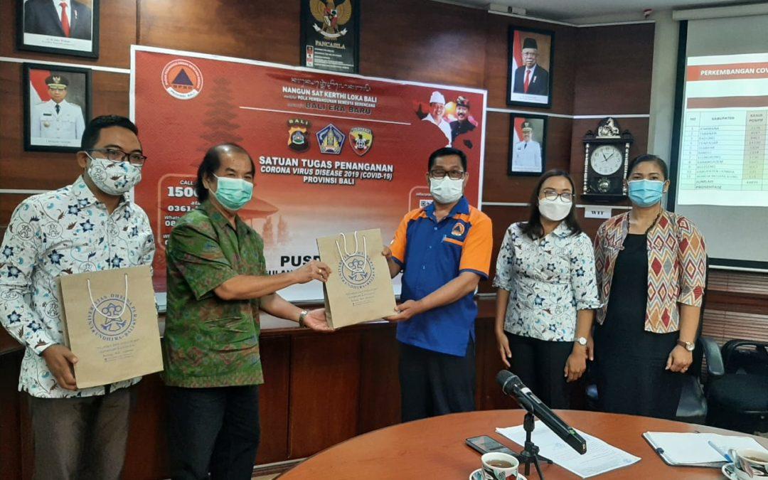 Mahasiswa IKM Undhira Study Tour ke BPBD Propinsi Bali.