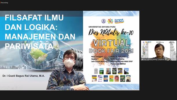 Virtual Book Fair Undhira Tahun 2021 : Membedah 13 Judul Buku