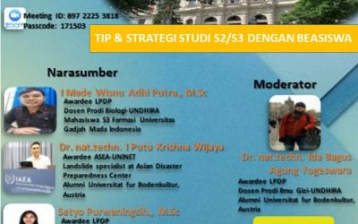TIP & Strategi Study S2/S3 Dengan Beasiswa.