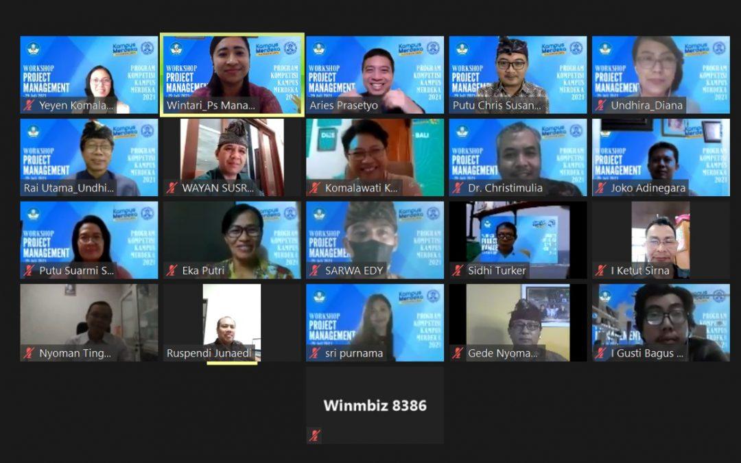PKKM Undhira Kembali Adakan Workshop Project Management